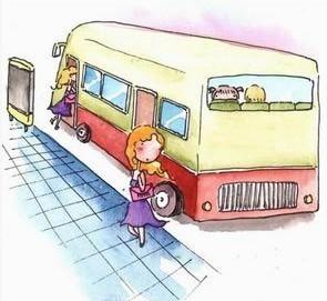 """小小智慧树坐公共汽车-以免发生危险""""公交车提示语,大家并不陌生.-将头伸出窗外的 文高清图片"""
