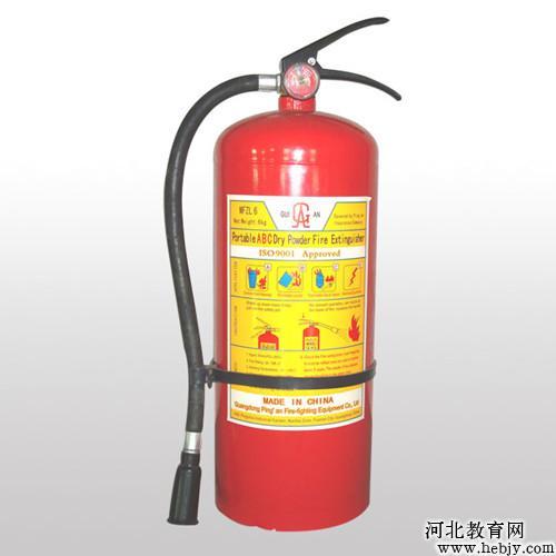 4.干粉灭火器适应火灾和使用方法-灭火器的分类及使用方法