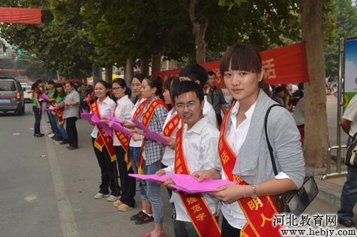 临漳推广普通话 共筑中国梦